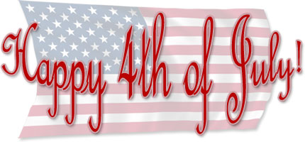 4th of July Clipart - Gifs