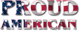 Proud American graphic