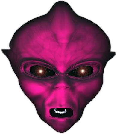 dark alien face