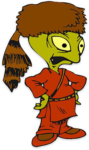 Daniel Boone Space Alien