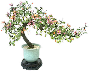 potted decorative tree
