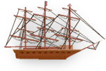 3 mast ship