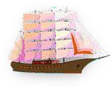 ship at full sial