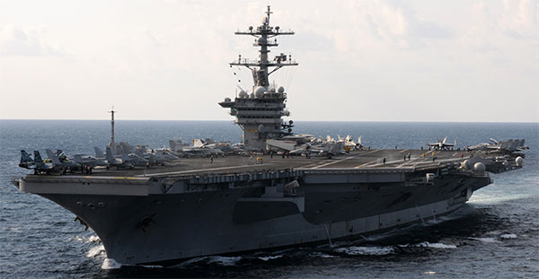 USS Carl Vinson carrier