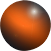 orange bullet