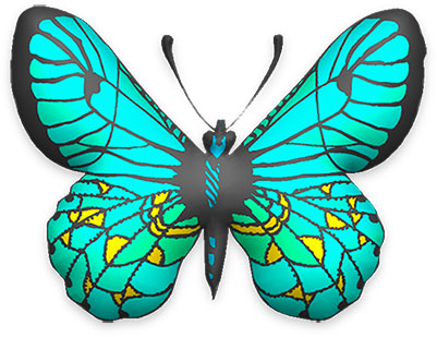 Free Animated Butterfly Gifs - Butterfly Clipart