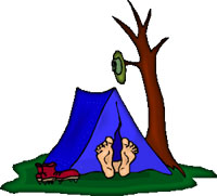 Free Camping Gifs - Camping Animations - Clipart