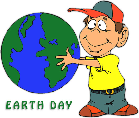 boy on Earth Day