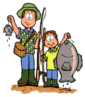 Free Fishing Animations - Fishing Clipart - Animated Fishing Gifs