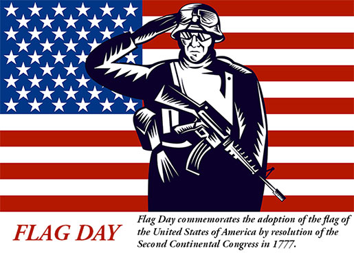 Flag Day, soldier, American Flag