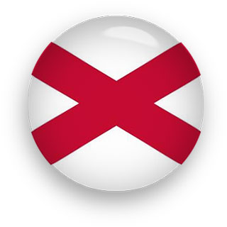 Saint Patrick's Saltire flag button Northern Ireland