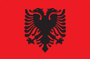 large Albanian Flag