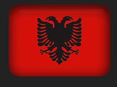 Albania Flag clipart