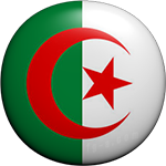 Algerian button round