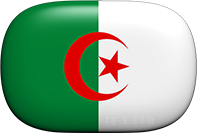 Algerian button rounded corners