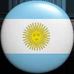 round Argentine button