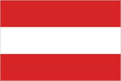 large Austrian flag