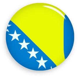 bosnia and herzegovina round button