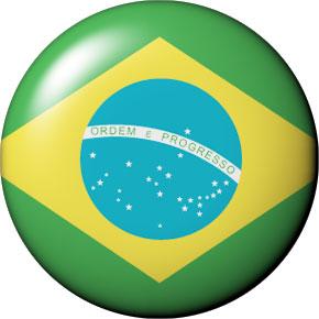 round Brazil button