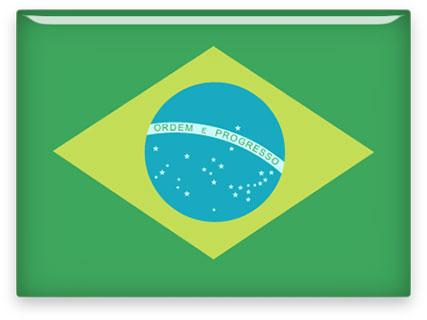 rectangular Brazil clipart