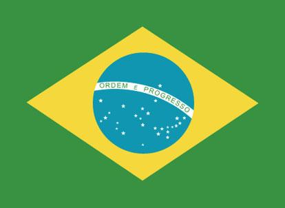 large Brazilian flag