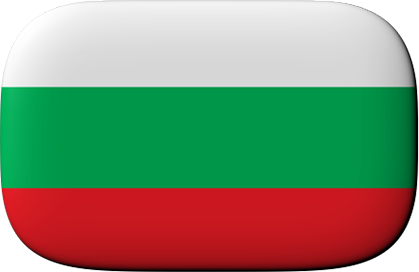 Bugarian Flag with rounded corners