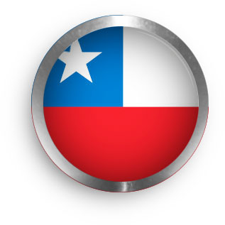 Chile clipart round with metal trim