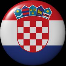 Croation flag button