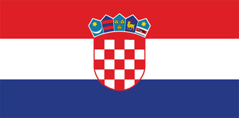 large Croation flag