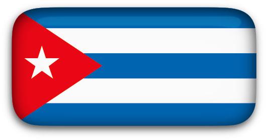 Cuba Flag clip art