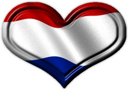Dutch Flag Heart