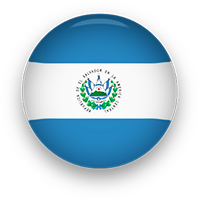 El Salvador flag button