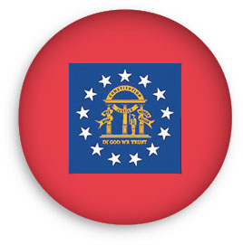 Georgia flag seal