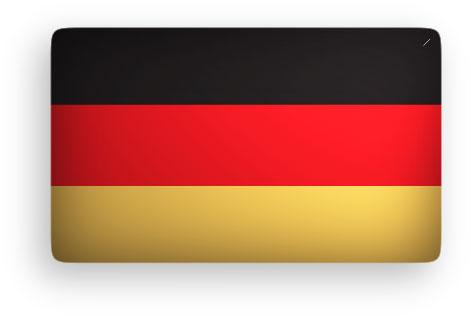 German Flag clipart