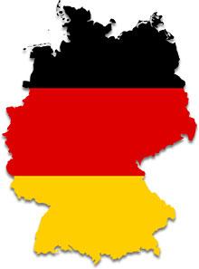 German map flag