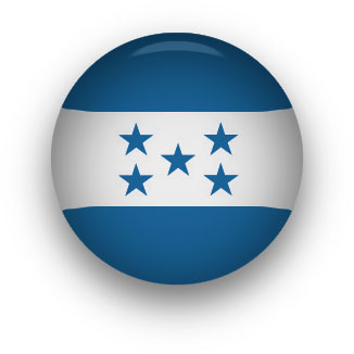 Honduras Flag button