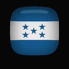 Honduras flag clipart square