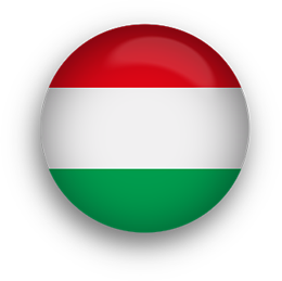 Hungary button round