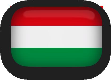 Hungary Flag clipart