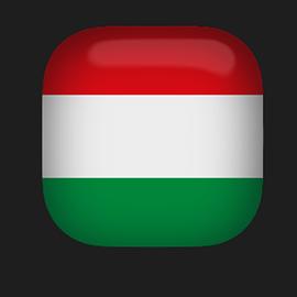 Hungart Flag clipart