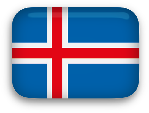 Iceland Flag clipart
