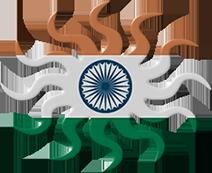 indian flag sun