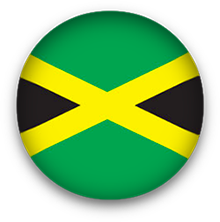 Jamaica Flag button