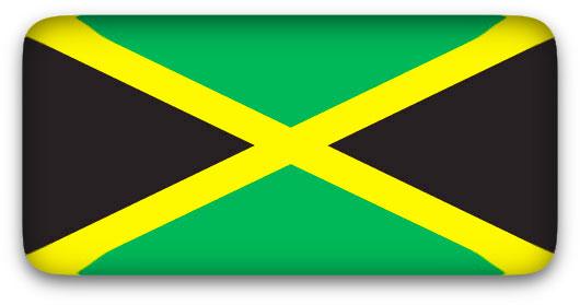 Jamaica Flag clipart