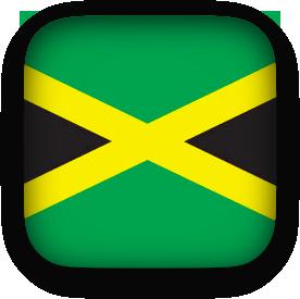 Jamaican clipart square