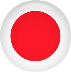 Japan Flag button
