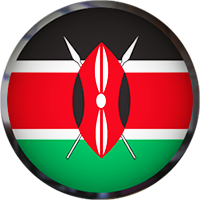 Kenya Button with frame