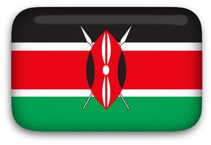 Kenyan Flag clipart