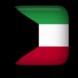 Kuwait Flag clipart