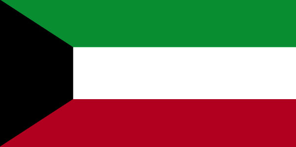 Kuwait Flag large